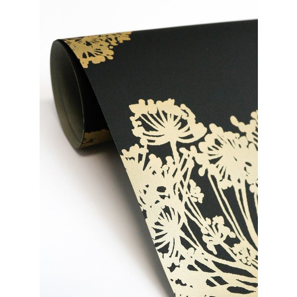 輸入壁紙  ESPOIR NEW AGE  国内在庫 JB21800 黒 草花柄 モダン WALLQUEST テシード DIY |decoall|04