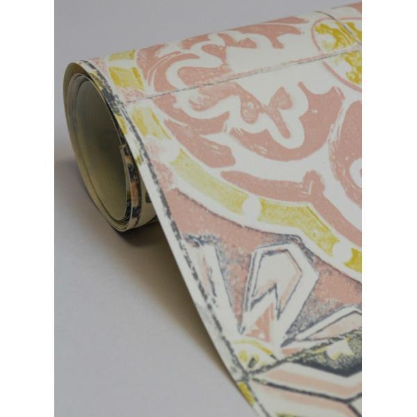 輸入壁紙  ESPOIR NEW AGE  国内在庫 MATE6926044 ピンク タイル柄 モロッカン CASELIO テシード DIY |decoall|05