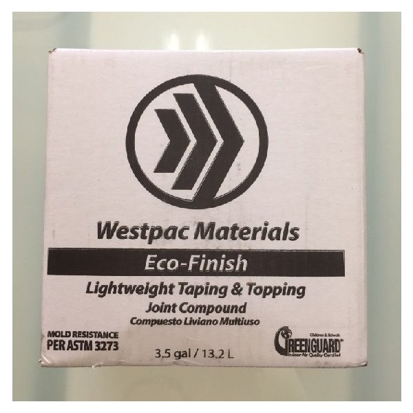 壁の下地処理に最適!テーピング用パテ「エコフィニッシュ ペースト」1箱(13.2L)|decoall