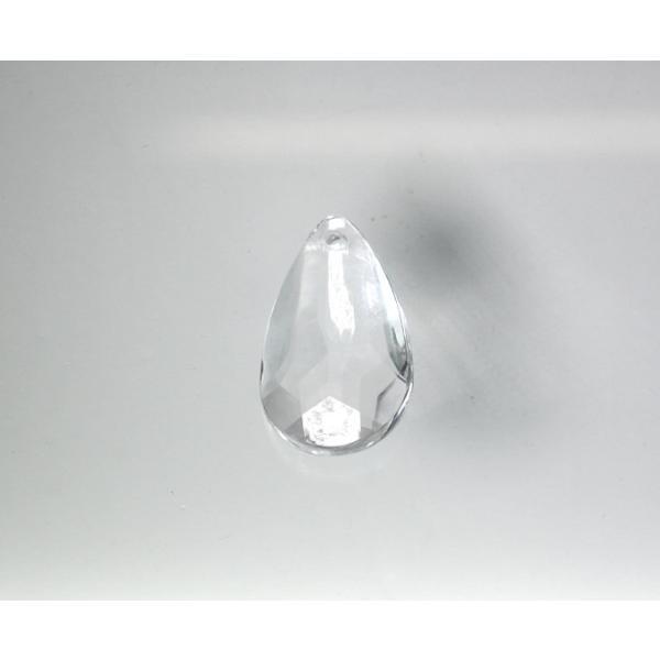 アクリルシャンデリアパーツドロップ型オーナメントF40クリア|decoline|02
