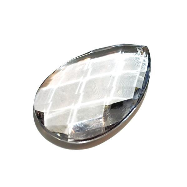 アクリルシャンデリアパーツドロップ型オーナメントF60クリア|decoline