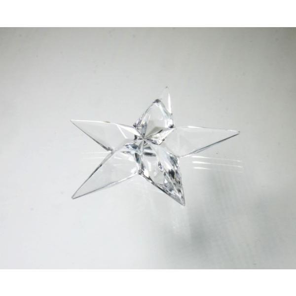 アクリルシャンデリアパーツ/クリスタルビーズ星型uc45クリア|decoline