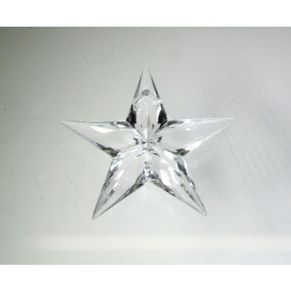 アクリルシャンデリアパーツ/クリスタルビーズ星型uc45クリア|decoline|02