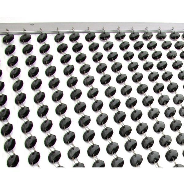 クリスタルガーランド/アクリル製シャンデリアチェーンC14スリム(1m)スモーク(クリアブラック)|decoline|05