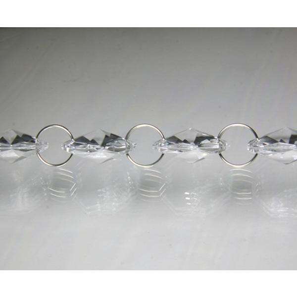 クリスタルガーランド/アクリル製シャンデリアチェーンC20(1m)クリア|decoline|03