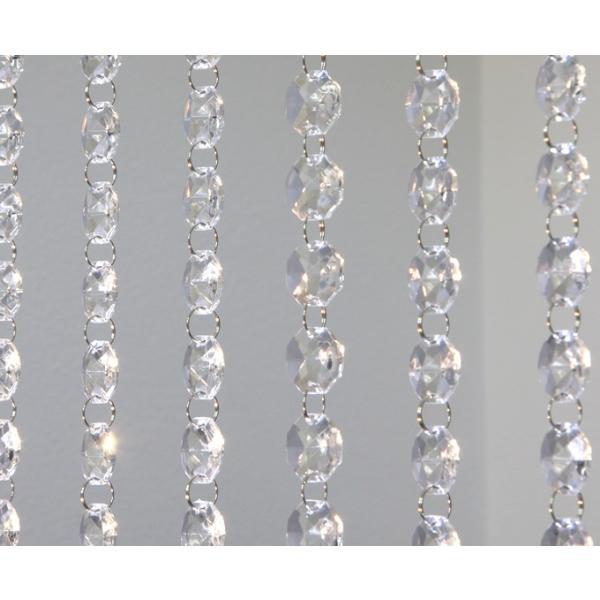 クリスタルガーランド/アクリル製シャンデリアチェーンC20(1m)クリア|decoline|05