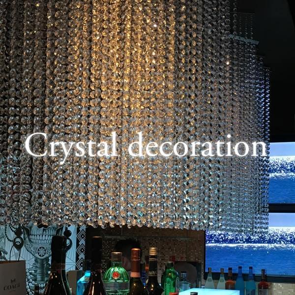 クリスタルガーランド/アクリル製シャンデリアチェーンC20(1m)クリア|decoline|08