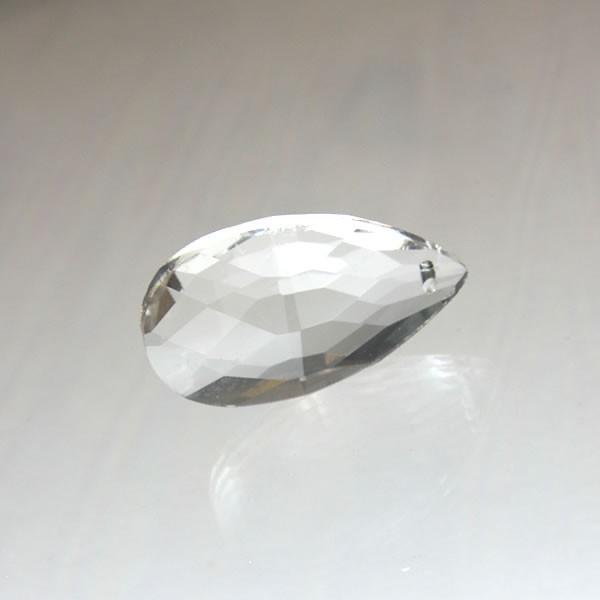 ドロップ型シャンデリアパーツ ダイヤカットガラス38mm クリア|decoline|04