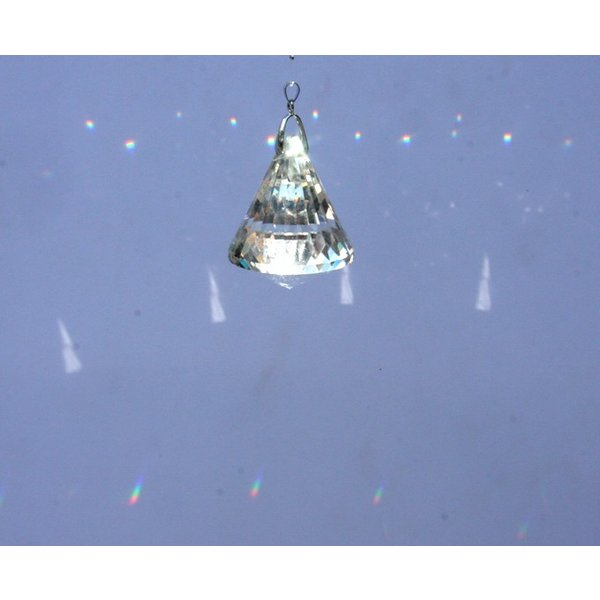 コーン型シャンデリアパーツ カットガラス50mm クリア|decoline|05