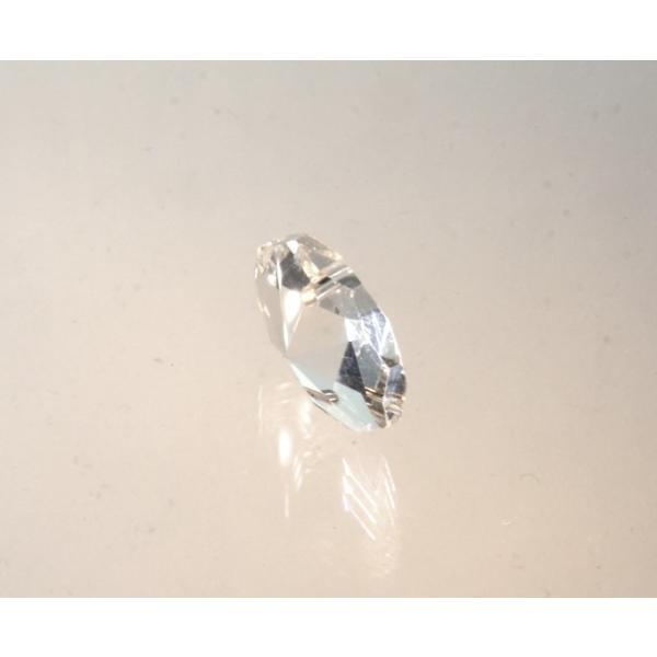 オクタゴン型シャンデリアパーツ カットガラス18mm クリア|decoline|02
