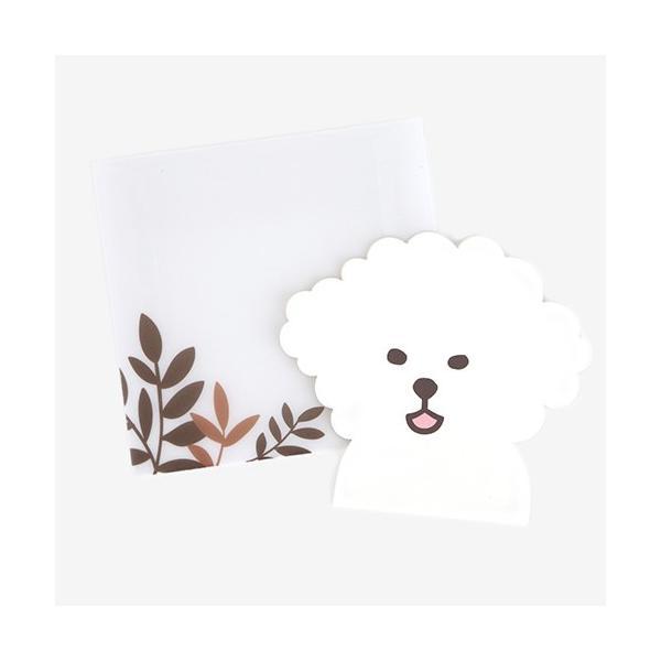 アニマルレター 04 Puppy 【メール便対応】 decollections