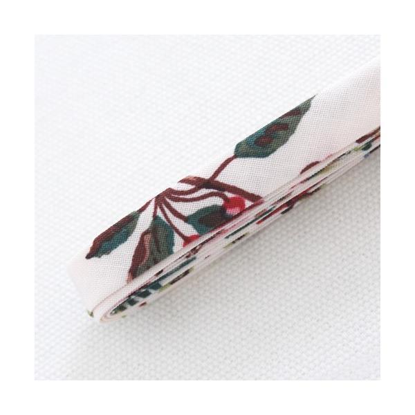 バイアステープ/12mm巾・ふちどり(4ツ折) 35 Forest ナタリーレテ/Nathalie Lete 【2.5m巻】 【メール便対応】