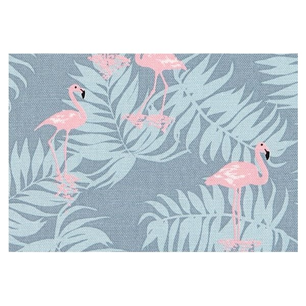 生地・布 ≪ Charming - flamingo ≫ オックス生地/幅150cm 【オリジナル生地】 【10cm単位販売】|decollections|02
