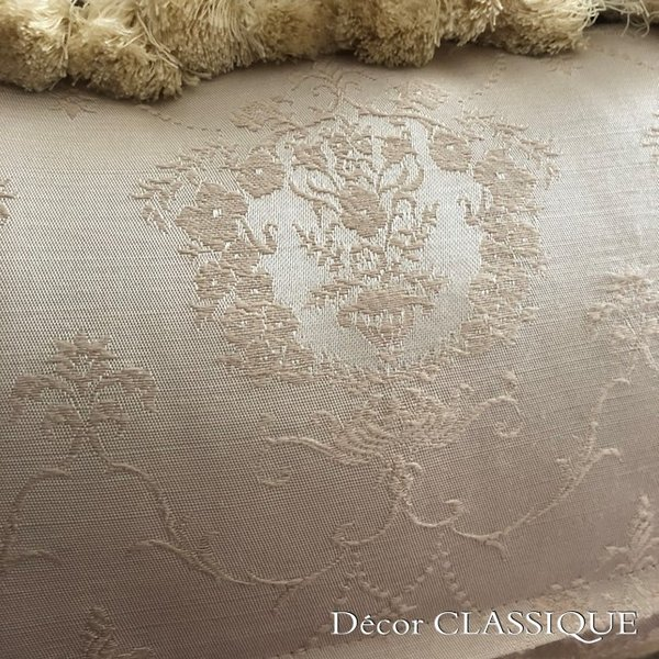 エレガントピロークッション:ブドワールピロー:フレンチラベンダー・フリンジ付き長方形 Decor CLASSIQUE|decor-classique|09