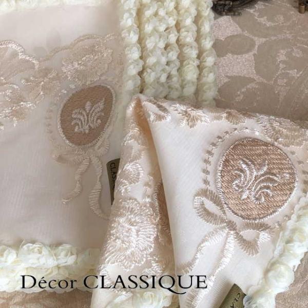 カクテルナプキン:エレガントティーナプキン:淑女の扇とフルールドリスボゥ Decor CLASSIQUE|decor-classique|04