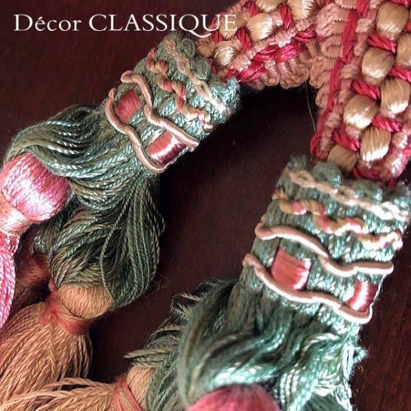エレガントオーナメントボゥタッセル   フレンチアンティークスタイル リボンボゥのダブルタッセル   Decor CLASSIQUE decor-classique 10