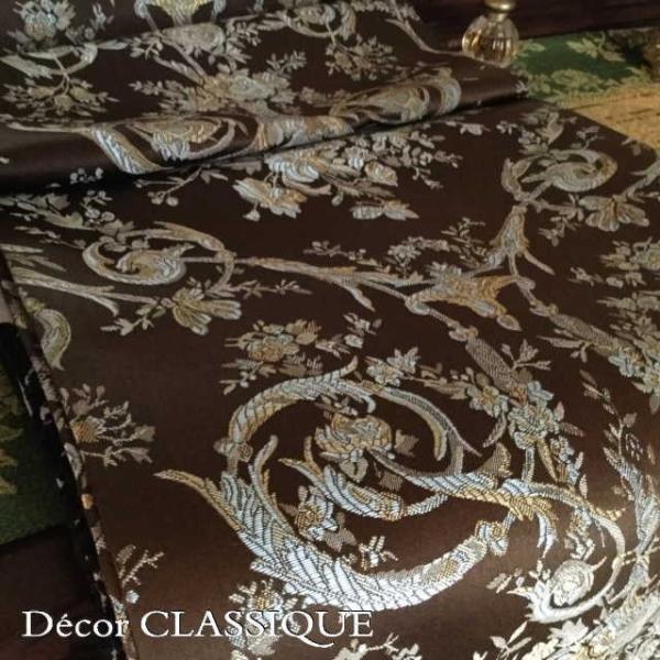 テーブルランナー ダークブラウン&ミント:240cm Decor CLASSIQUE|decor-classique|13