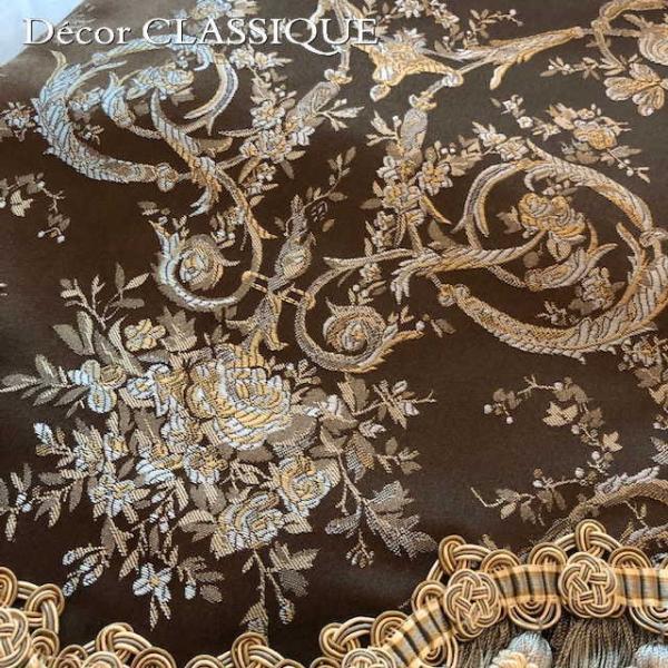テーブルランナー ダークブラウン&ミント:240cm Decor CLASSIQUE|decor-classique|08