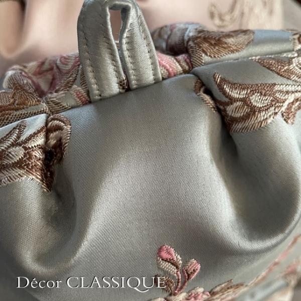 ティーコゼー・ティーコージー・ティーポットカバー:エレガントローズシリーズ:ブルーローズ リボン付き 立体縫製:Decor CLASSIQUE decor-classique 08