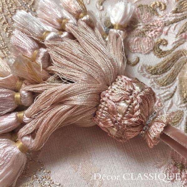 キータッセル フレンチブラッシュピンク Decor CLASSIQUE decor-classique 02
