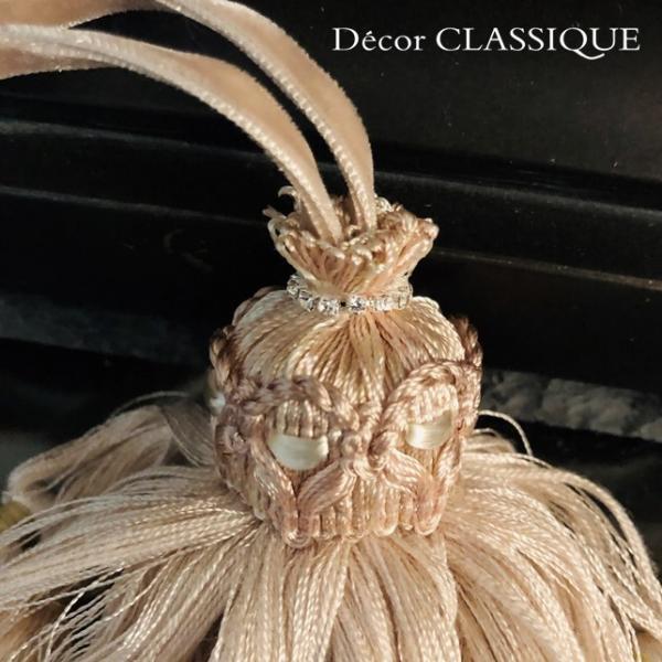 キータッセル フレンチブラッシュピンク Decor CLASSIQUE decor-classique 06