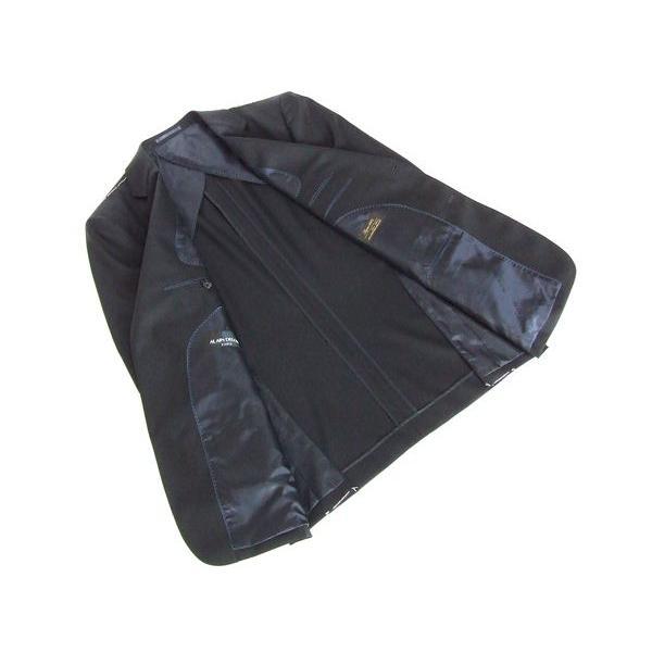 2015春夏モデル ALAIN DELON アランドロン Super100's ナチュラル・ストレッチ 濃紺ネイビー無地 2ボタンスーツ (A/AB/BB体) NT01-2B|decte|04
