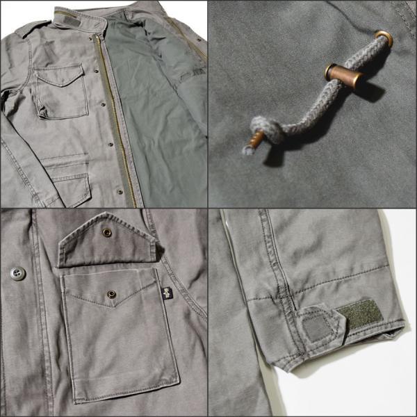 アルファインダストリーズ ALPHA INDUSTRIES M-65ジャケット クォーターマスターフィールドコート メンズ USAモデル 秋冬|deep|04