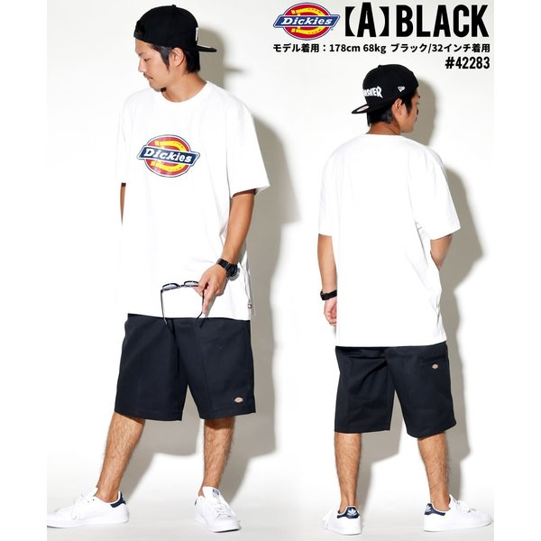 ディッキーズ ワークハーフパンツ ショートパンツ メンズ 大きいサイズ Dickies USA企画 Loose Fit Multi-Use Pocket Work Shorts #42283 deep 13