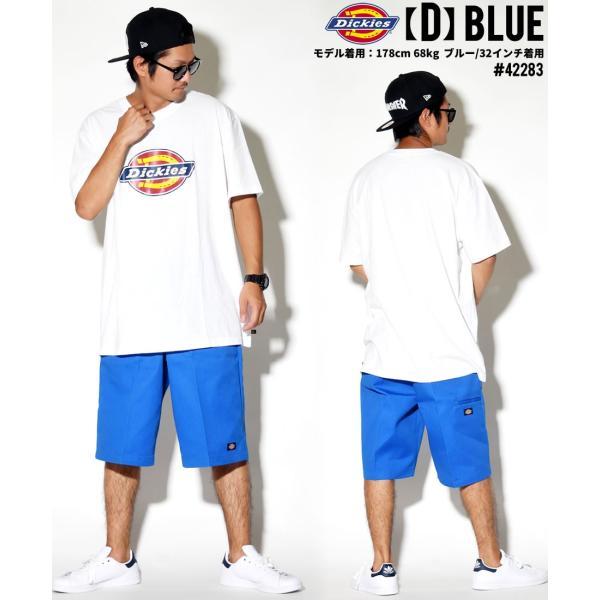 ディッキーズ ワークハーフパンツ ショートパンツ メンズ 大きいサイズ Dickies USA企画 Loose Fit Multi-Use Pocket Work Shorts #42283 deep 15