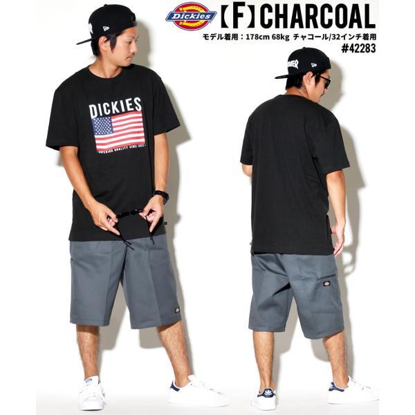 ディッキーズ ワークハーフパンツ ショートパンツ メンズ 大きいサイズ Dickies USA企画 Loose Fit Multi-Use Pocket Work Shorts #42283 deep 17