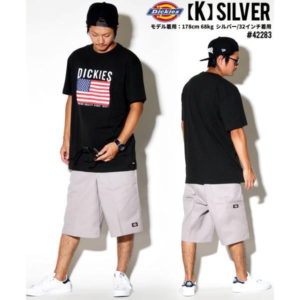 ディッキーズ ワークハーフパンツ ショートパンツ メンズ 大きいサイズ Dickies USA企画 Loose Fit Multi-Use Pocket Work Shorts #42283 deep 19