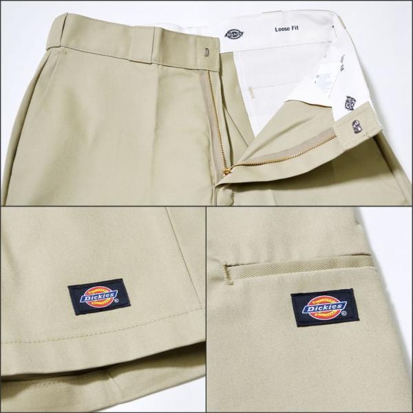 ディッキーズ ワークハーフパンツ ショートパンツ メンズ 大きいサイズ Dickies USA企画 Loose Fit Multi-Use Pocket Work Shorts #42283 deep 21