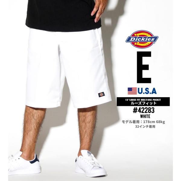 ディッキーズ ワークハーフパンツ ショートパンツ メンズ 大きいサイズ Dickies USA企画 Loose Fit Multi-Use Pocket Work Shorts #42283 deep 06