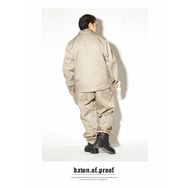 ダックキャンバス セットアップ メンズ カバーオールジャケット バギーパンツ 上下セット ワークウェア 作業着 B系 ストリート ファッション 大きいサイズ 秋冬|deep|08