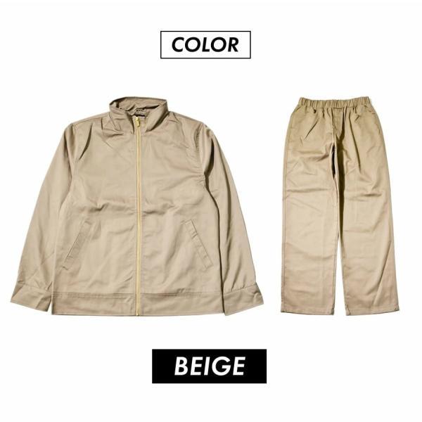 ダックキャンバス セットアップ メンズ カバーオールジャケット バギーパンツ 上下セット ワークウェア 作業着 B系 ストリート ファッション 大きいサイズ 秋冬|deep|10