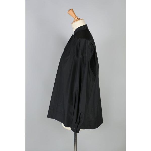 【50%OFF】Cotton Silk Gather Blouse(1217-03054) Scye Basics -Women-(サイ・ベーシックス)