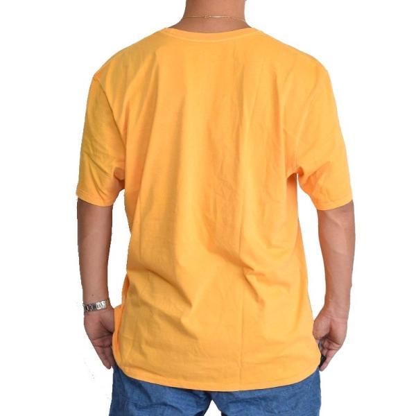 大きいサイズ メンズ ノースフェイス 半袖 ロゴプリント Tシャツ 黄色 イエロー XL XXL THE NORTH FACE USAモデル STANDARD FIT|deff|03