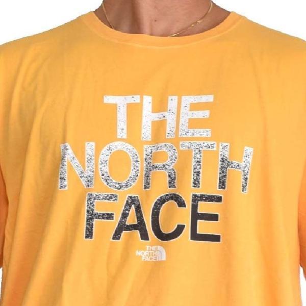 大きいサイズ メンズ ノースフェイス 半袖 ロゴプリント Tシャツ 黄色 イエロー XL XXL THE NORTH FACE USAモデル STANDARD FIT|deff|04