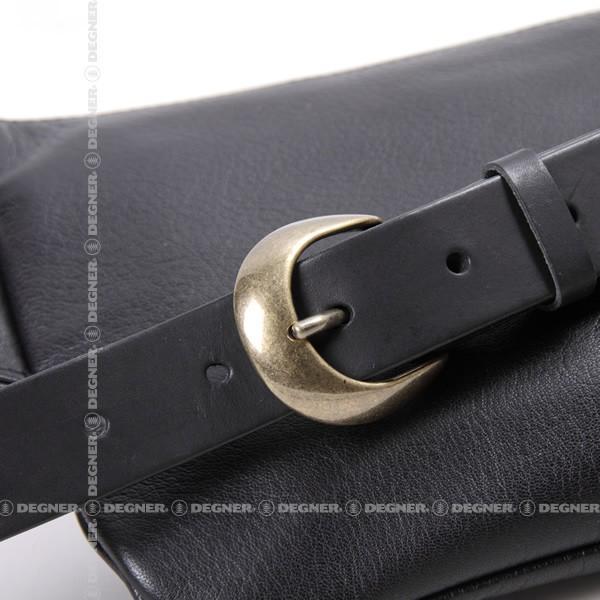 レザーボディバッグ LEATHER BODY BAG ブラック W-86-BK