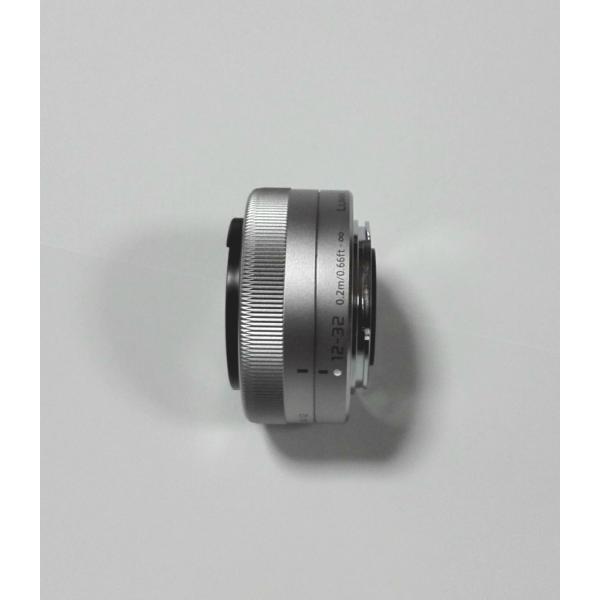 Panasonic 標準ズーム LUMIX  G VARIO 12-32mm/F3.5-5.6 ASPH./MEGA O.I.S. H-FS12032-S シルバー
