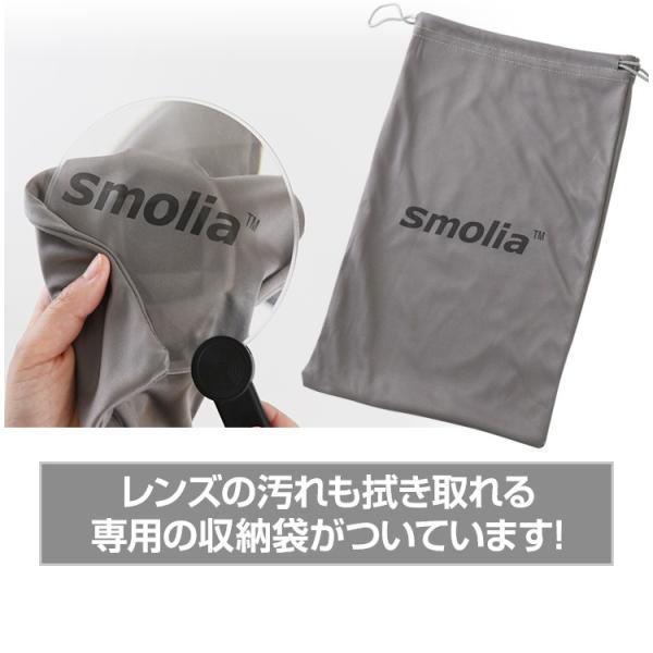 ルーペ 携帯用 拡大鏡 メガネ 手持ち 卓上型 スタンド 読書用 携帯 メガネの上 ストラップ スモリア フリー おしゃれ 3R-SMOLIA-FREE|dejiking|12