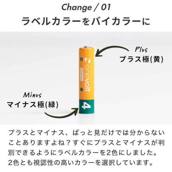 充電池 単4形 充電式 4本セット大容量 エネボルト エネロング 900mAh ニッケル水素充電池 充電器 バッテリー ポイント消化 送料無料 メール便対応 雑貨 お試し|dejiking|05