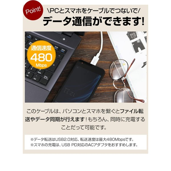 タイプC 充電ケーブル 充電器 コンセント 急速充電 セット アンドロイド スマホ 1m USB PD 18W  Power Delivery C to C ACアダプタ Type-C INOVA イノバ|dejiking|13