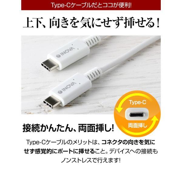 タイプC 充電ケーブル 充電器 コンセント 急速充電 セット アンドロイド スマホ 1m USB PD 18W  Power Delivery C to C ACアダプタ Type-C INOVA イノバ|dejiking|14
