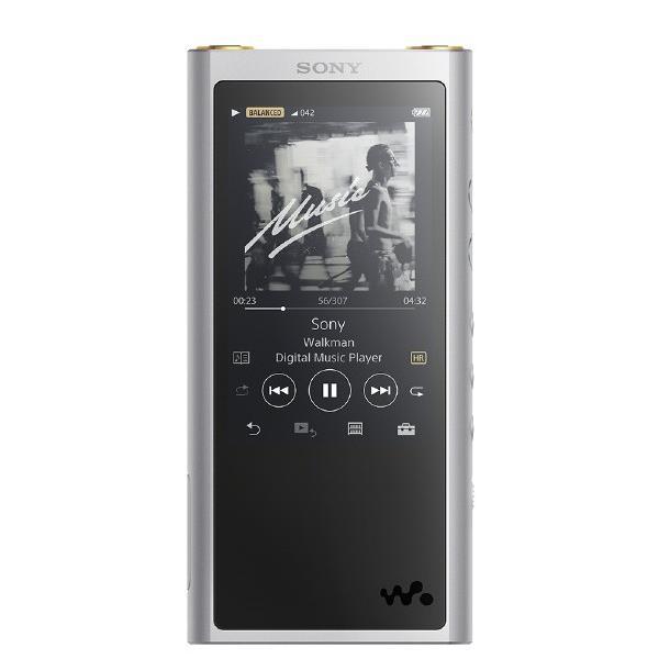 (納期約3週間 )SONY デジタルオーディオプレーヤー(64GB) ウォークマンZXシリーズ シルバー NW-ZX300-S [NWZX300S]