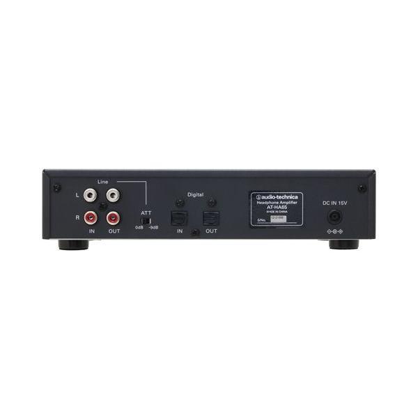 オーディオテクニカ(audio-technica) ヘッドホンアンプ AT-HA65