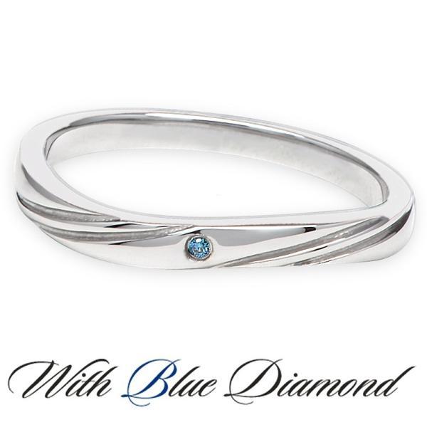 ペアリング ダイヤモンド ステンレス シンプル セット 指輪 delacruz 03