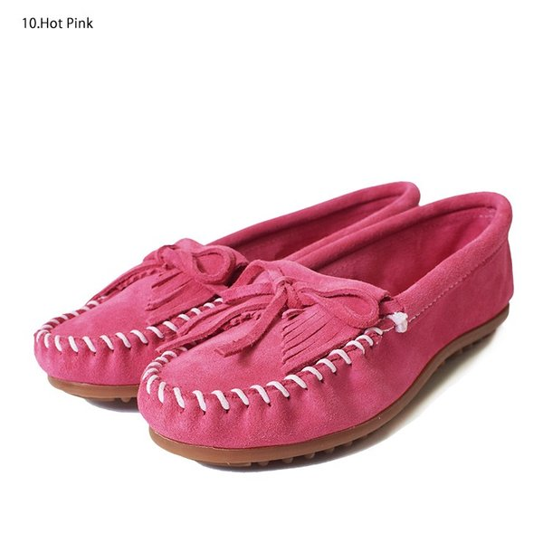 MINNETONKAミネトンカ キルティ スエード モック モカシンKILTY SUEDE MOC MOCCASIN 401 400 402 403 409 401T 407T 409T 406 408T|delicious-y|11