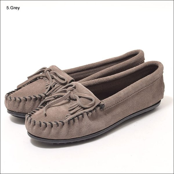 MINNETONKAミネトンカ キルティ スエード モック モカシンKILTY SUEDE MOC MOCCASIN 401 400 402 403 409 401T 407T 409T 406 408T|delicious-y|05