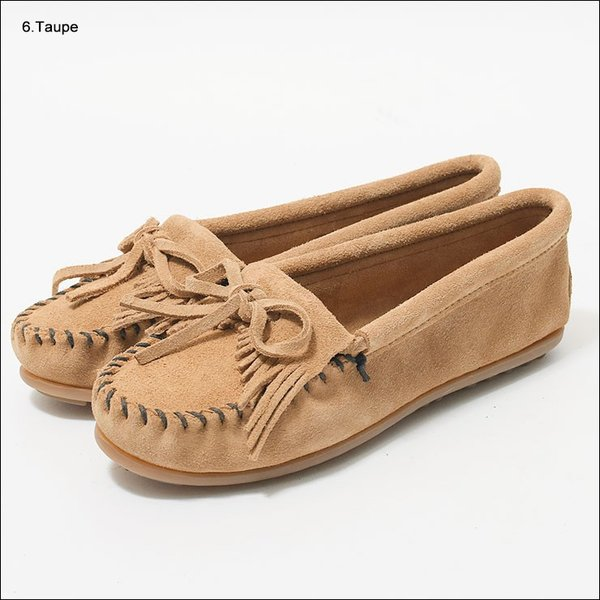 MINNETONKAミネトンカ キルティ スエード モック モカシンKILTY SUEDE MOC MOCCASIN 401 400 402 403 409 401T 407T 409T 406 408T|delicious-y|06